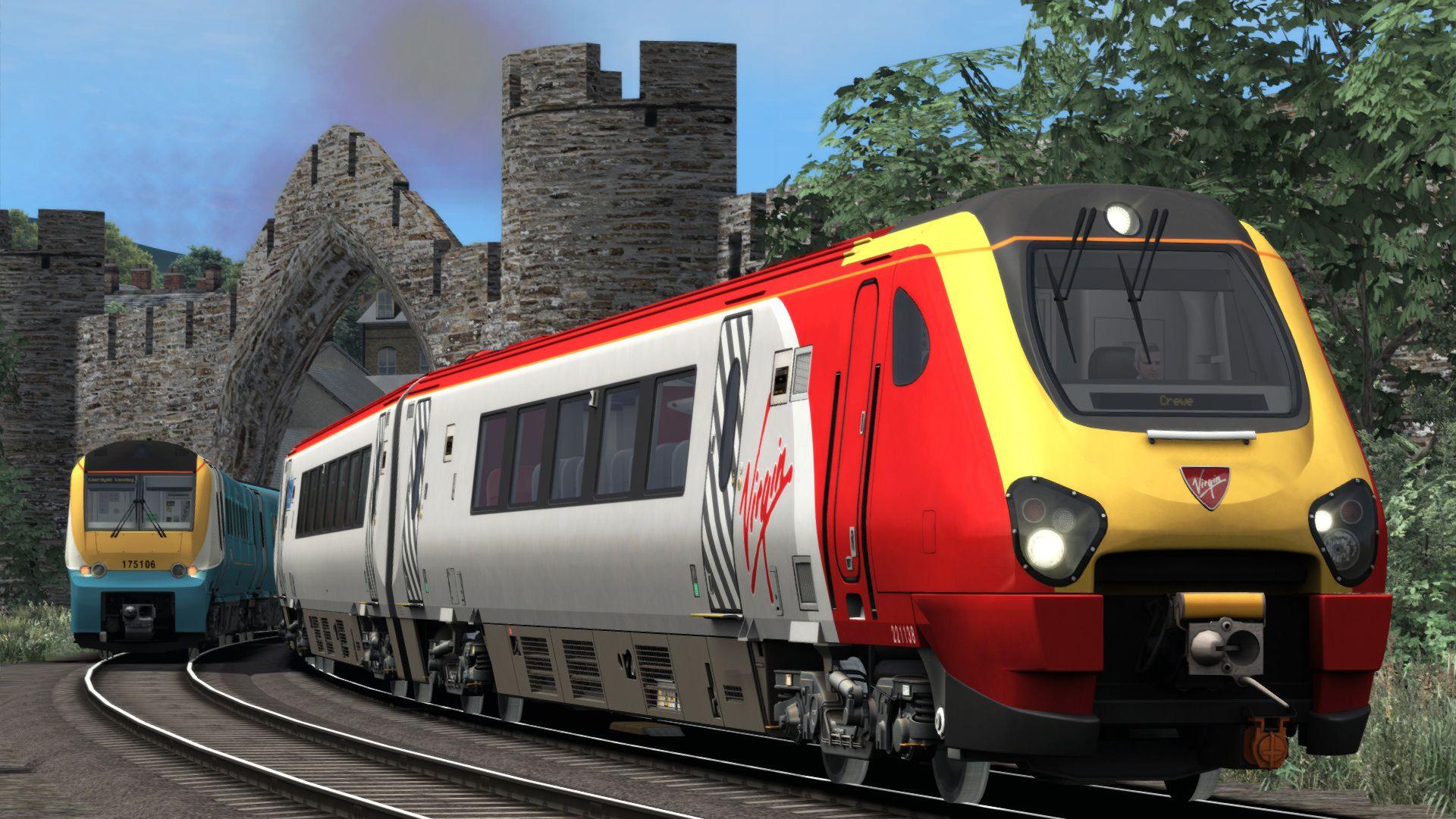 Train Simulator North Wales Coastal Crewe to Holyhead