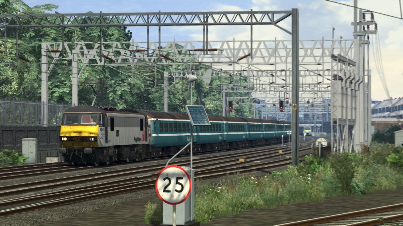 Image showing the free extension to the GEML route from Traction Depot, available on the Steam Workshop