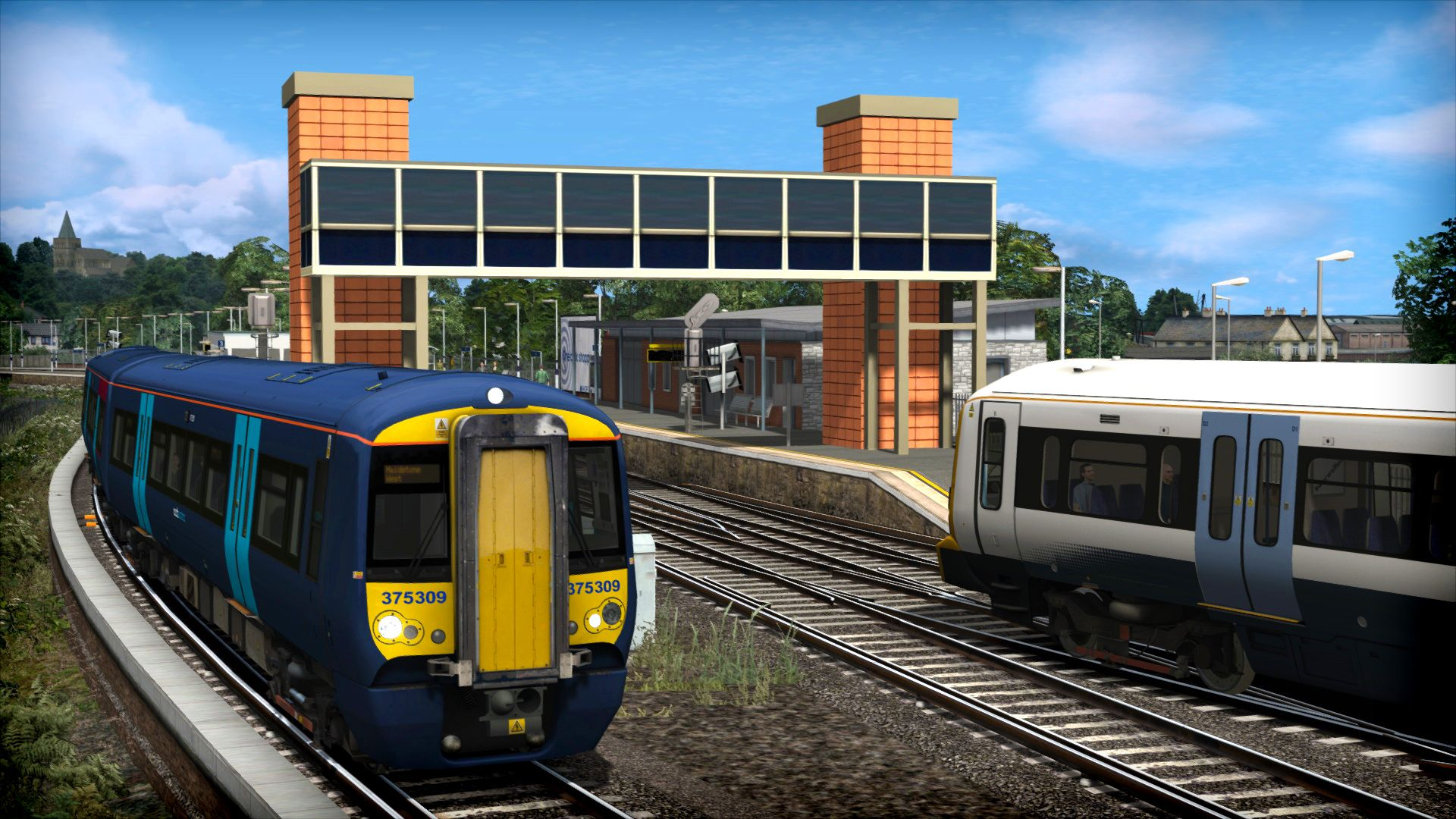 Image showing the Chatham Main & Medway Valley Lines Route DLC for Train Simulator