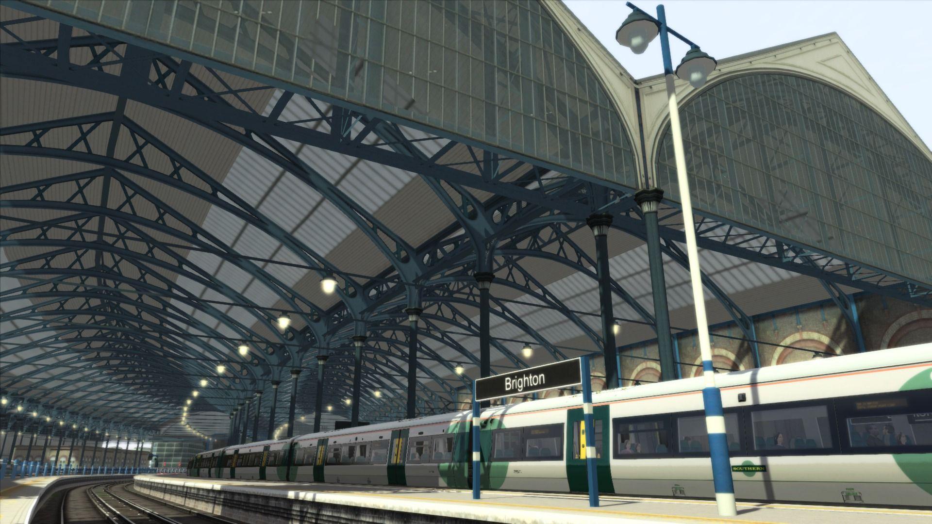 Train Simulator London to Brighton
