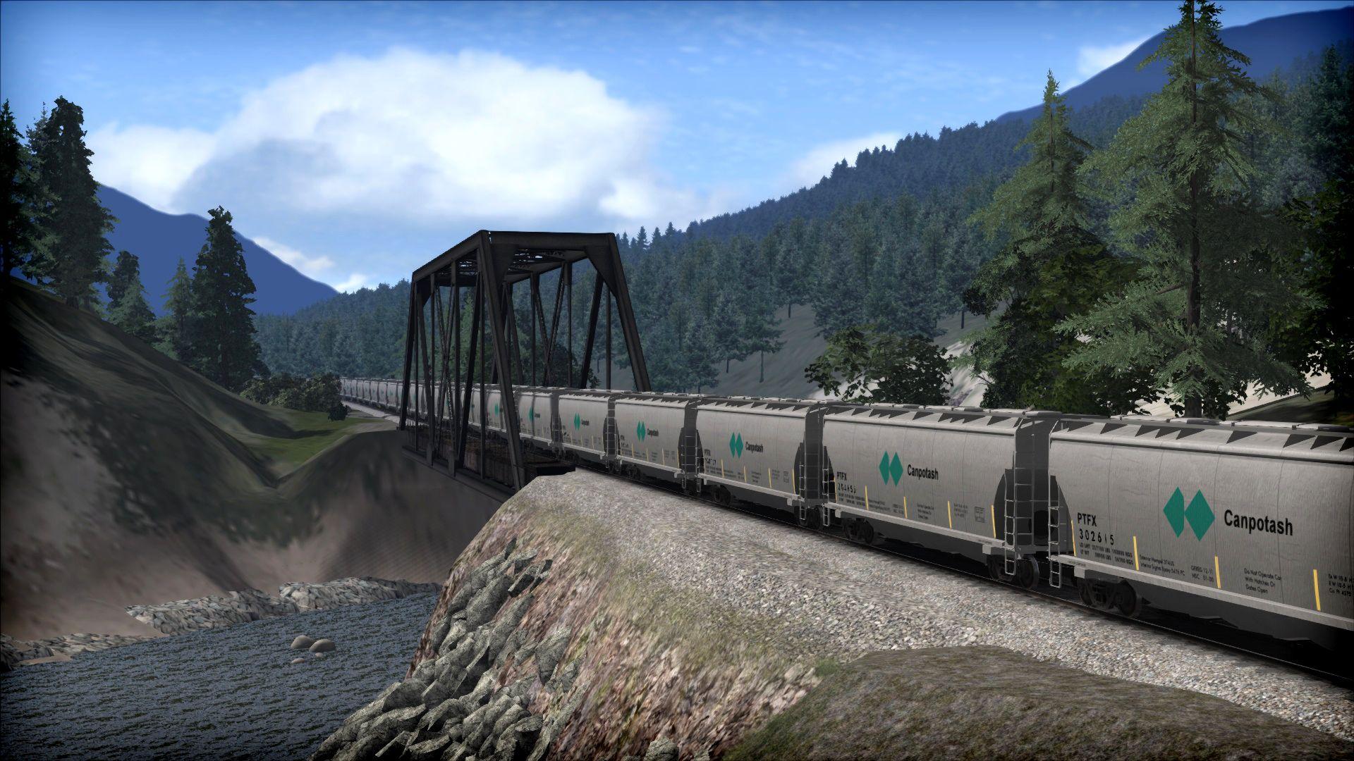 Train Simulator Canadian Mountain Passes: Revelstoke-Lake Louise