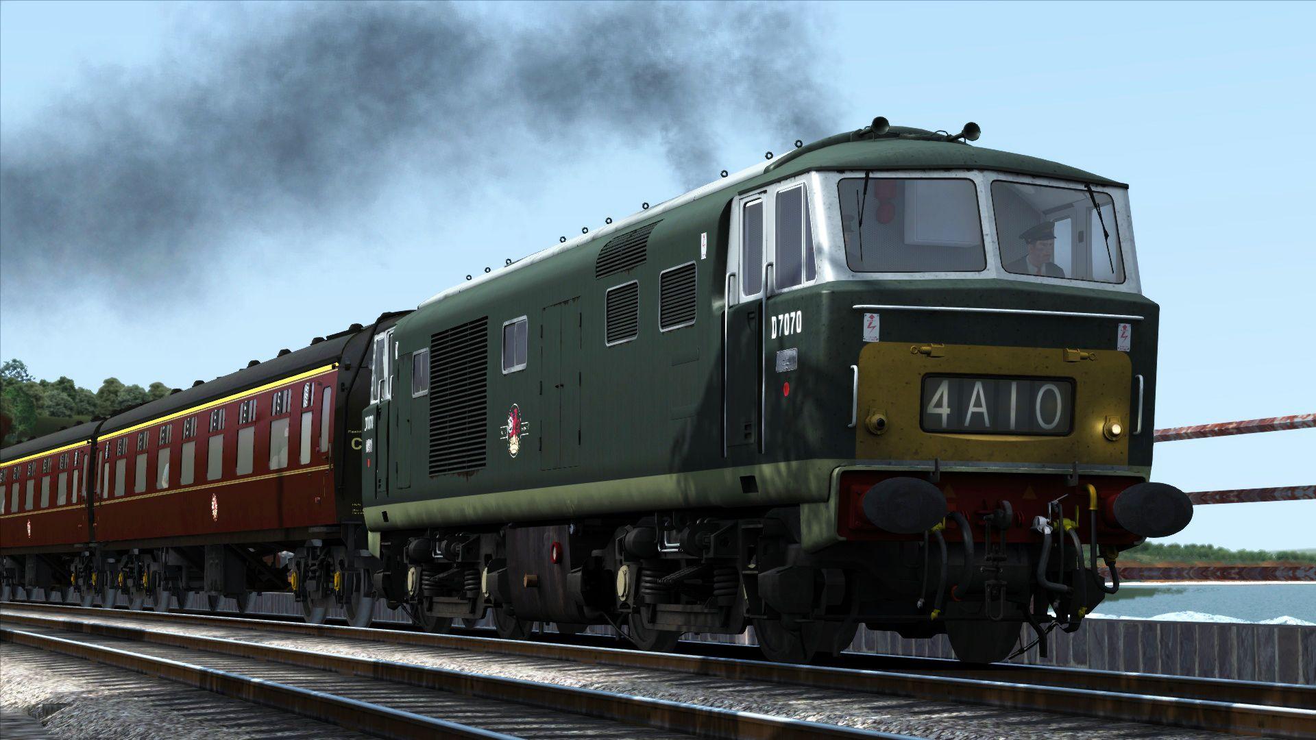 Train Simulator Western Hydraulics