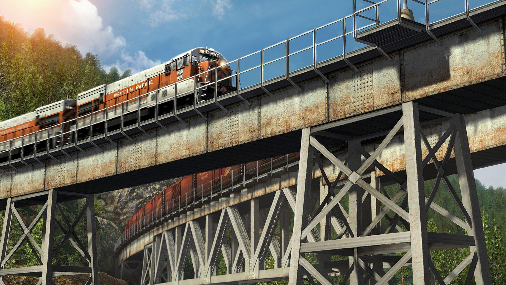 Train Simulator Feather River Canyon