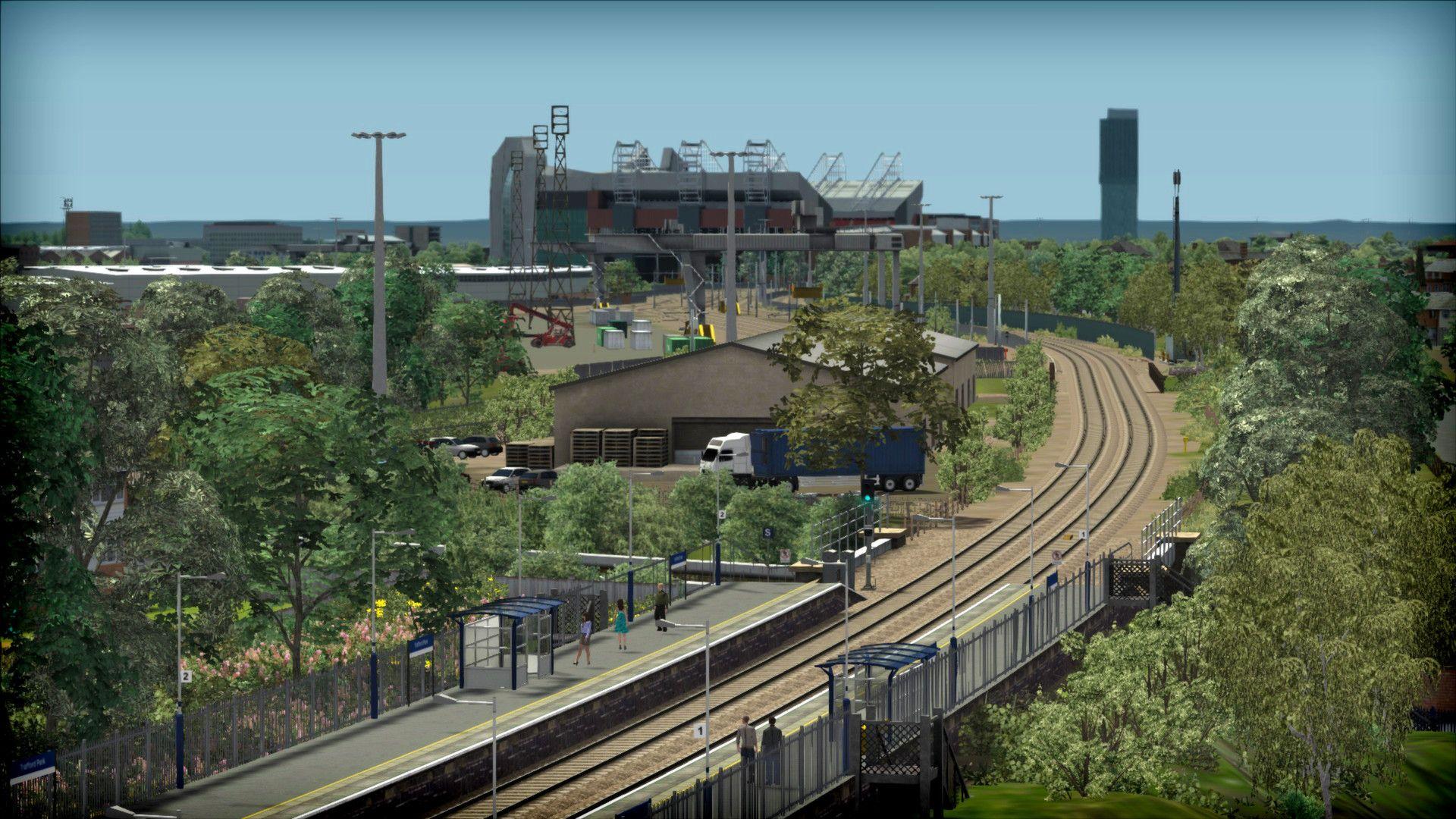 Train Simulator Liverpool to Manchester