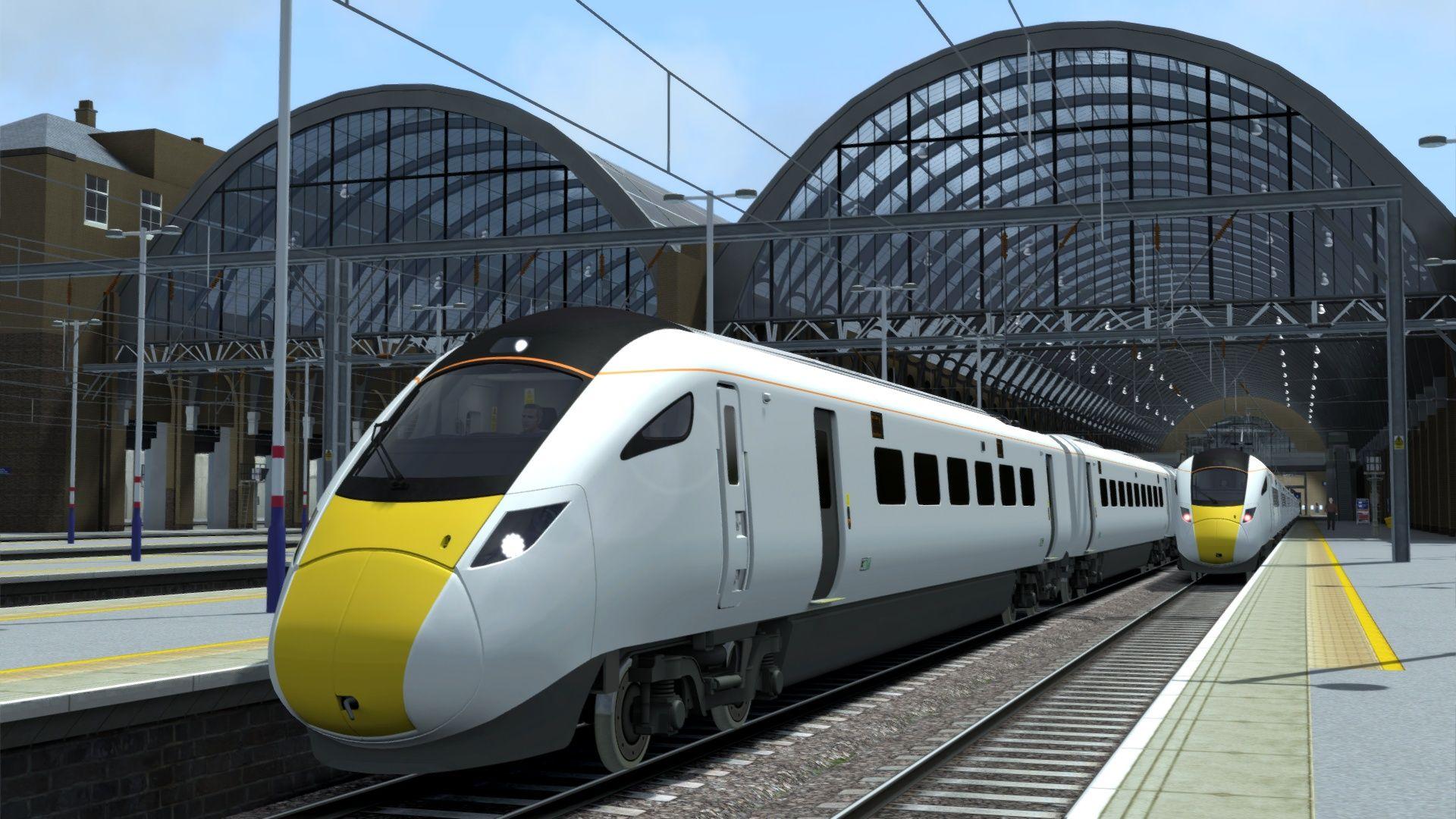 Train Simulator ECML London  to Peterborough