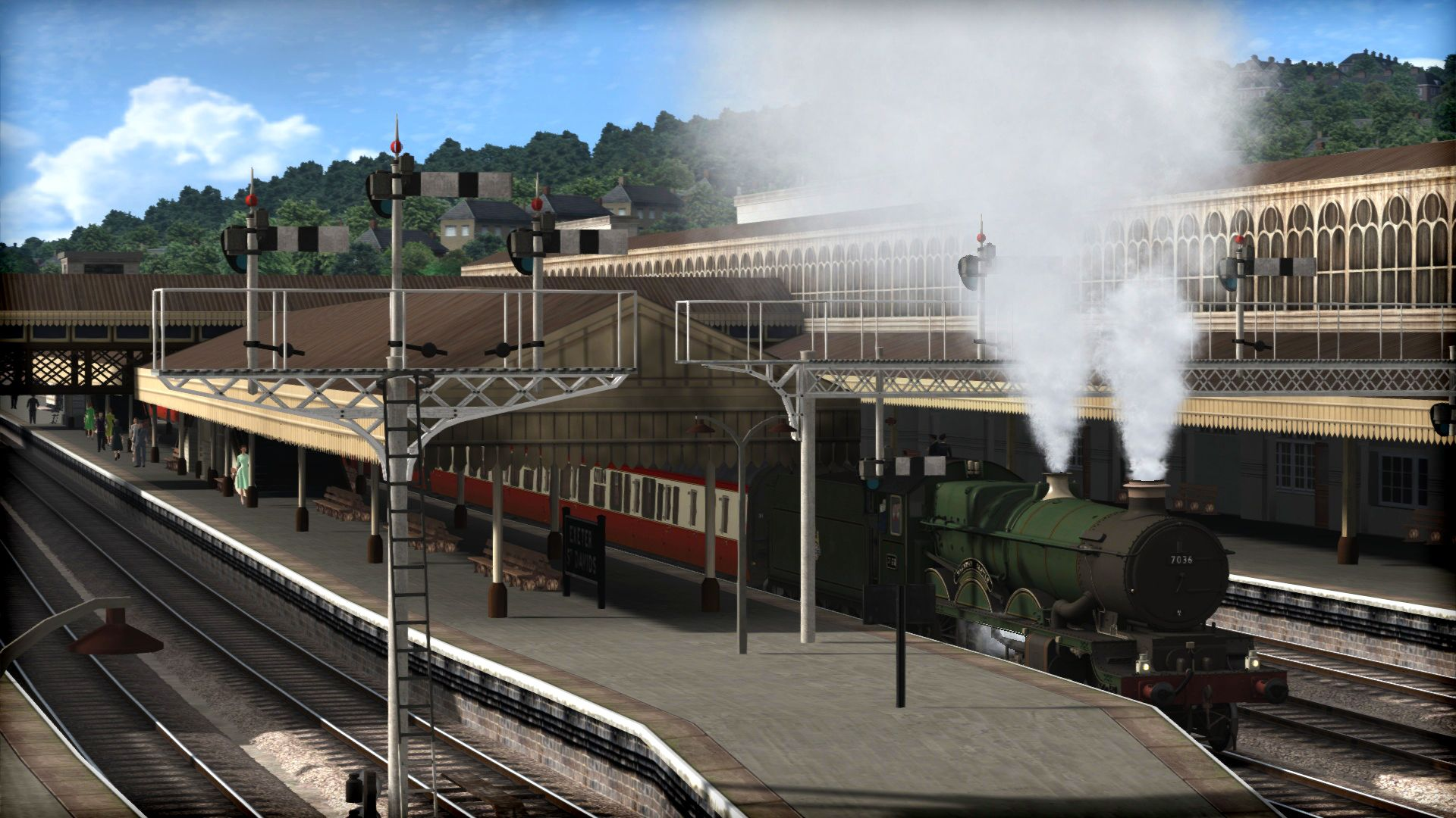 Train Simulator Riviera Line in the Fifties Exeter to Kingswear