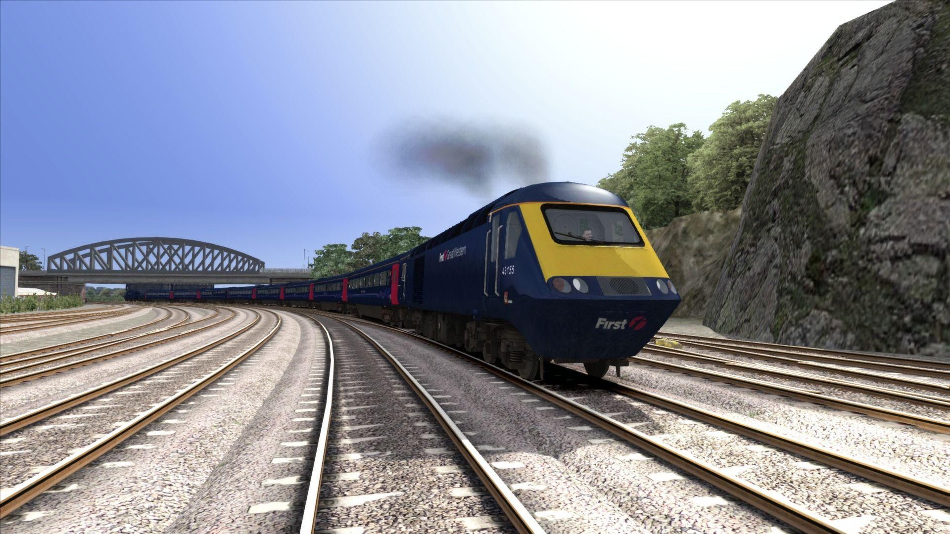 Train Simulator Bristol to Exeter