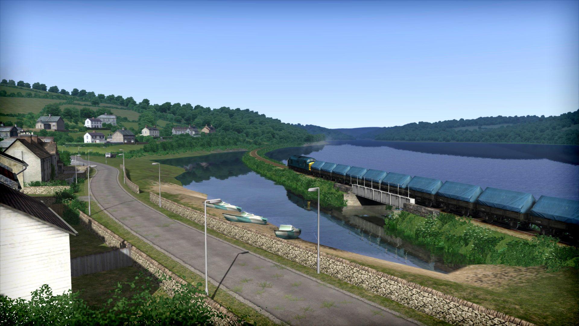 Train Simulator China Clay  for Export