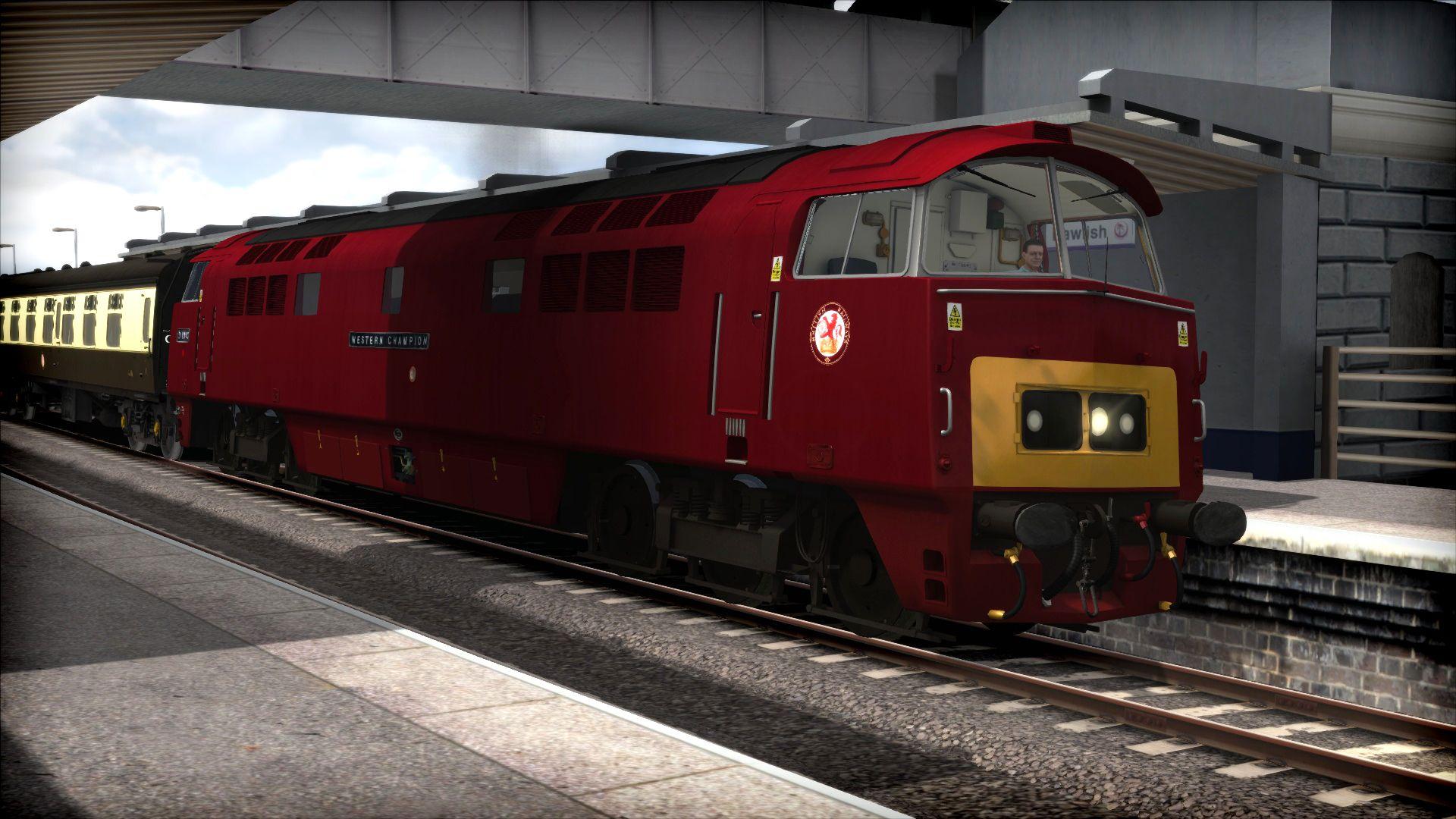 Train Simulator Class 52 'Western'