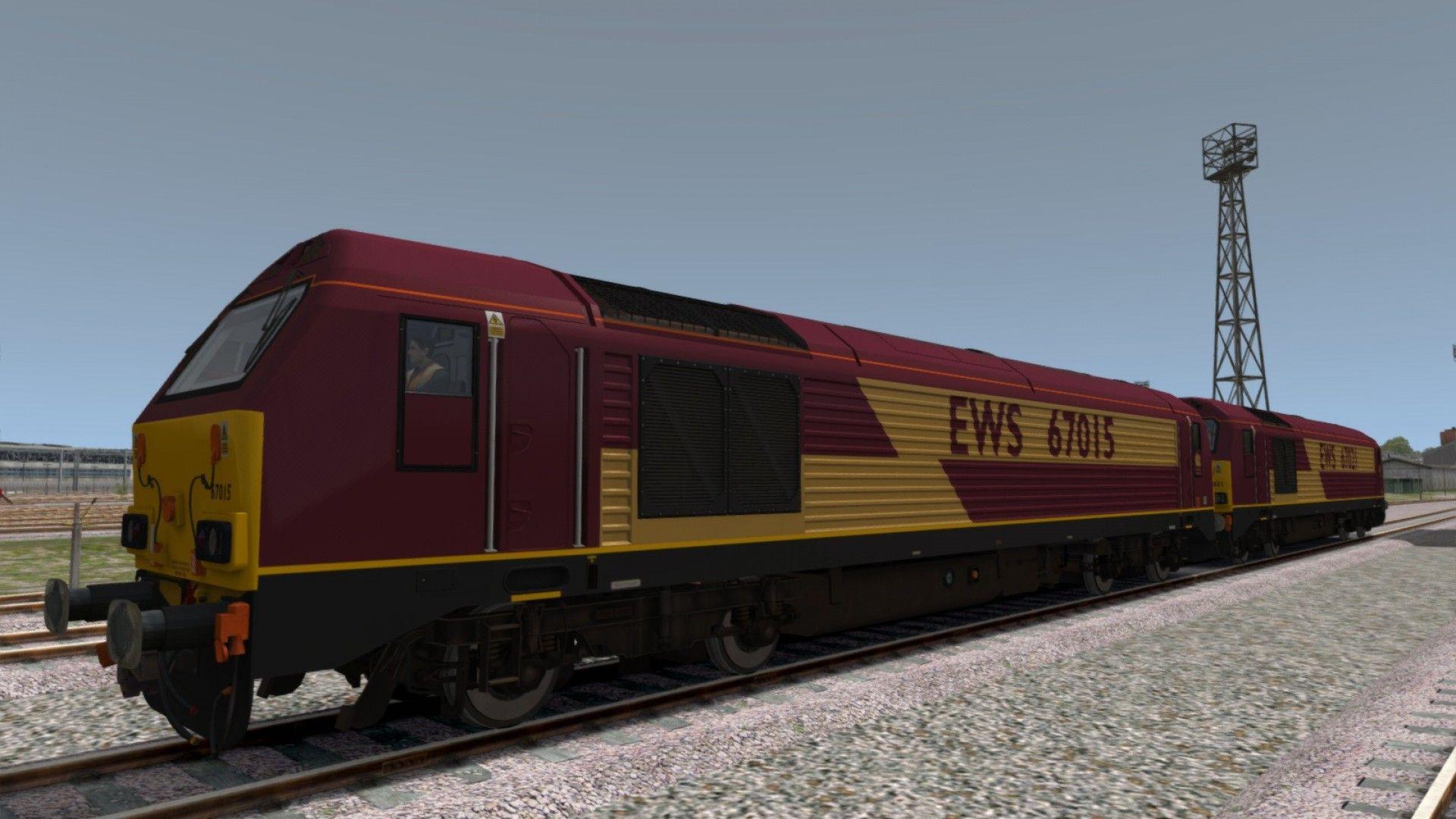 Train Simulator Class 67
