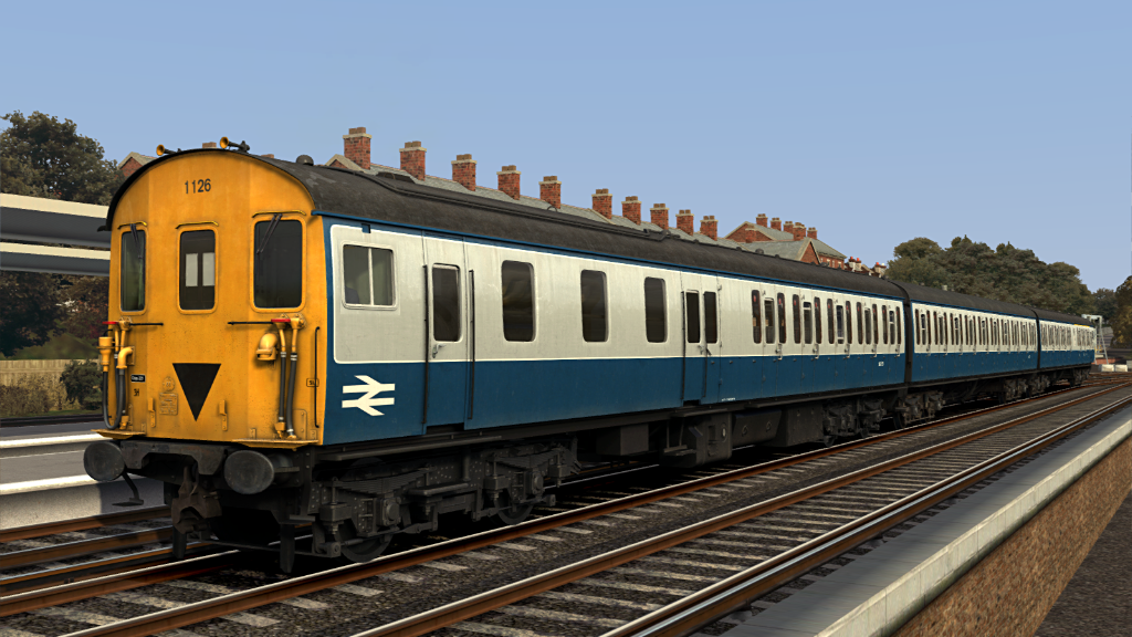 Image showing screenshot of one of the liveries featured in the Armstrong Powerhouse Class 205 'Thumper' Pack
