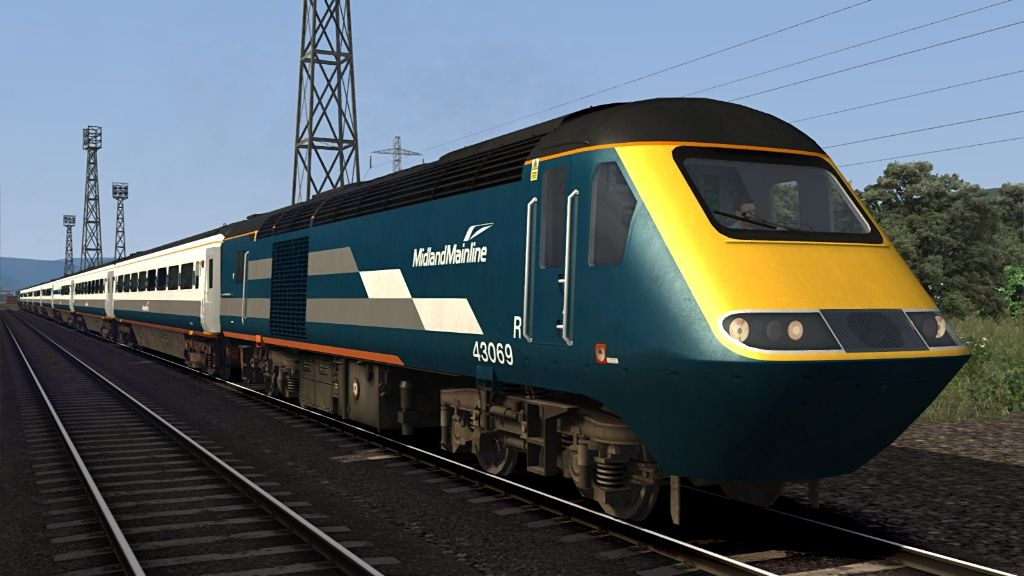 Image showing screenshot of one of the liveries featured in the Armstrong Powerhouse Class 43 Valenta Enhancement Pack