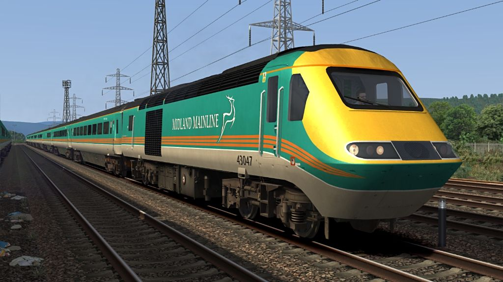 Image showing screenshot of one of the liveries featured in the Armstrong Powerhouse Class 43 VP185 Enhancement Pack
