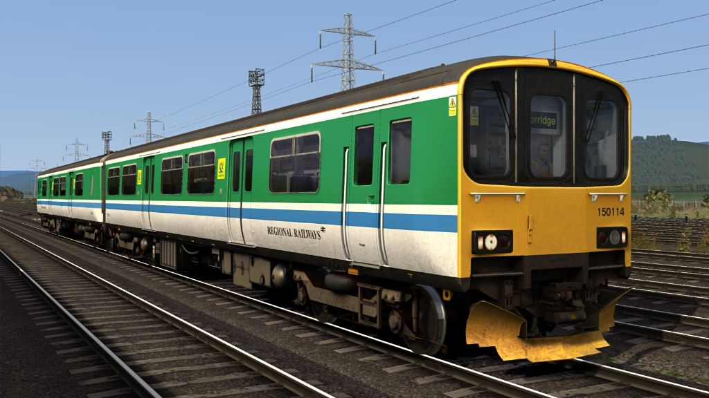 Image showing screenshot of one of the liveries featured in the Armstrong Powerhouse Class 150/1 Enhancement Pack