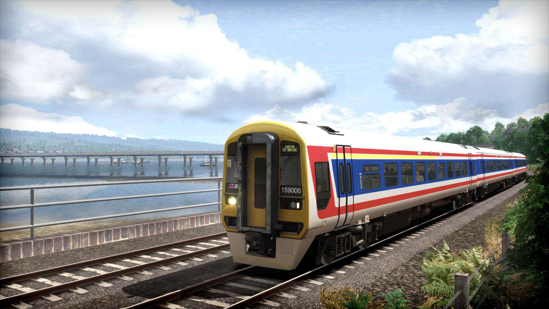 Train Simulator Class 159