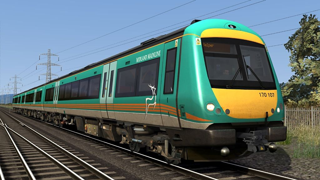 Image showing screenshot of one of the liveries featured in the Armstrong Powerhouse Class 170 Enhancement Pack