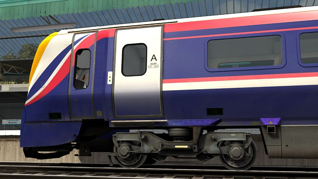 Image showing screenshot of a Class 175 DMU as seen in the Armstrong Powerhouse Class 175 Enhancement Pack