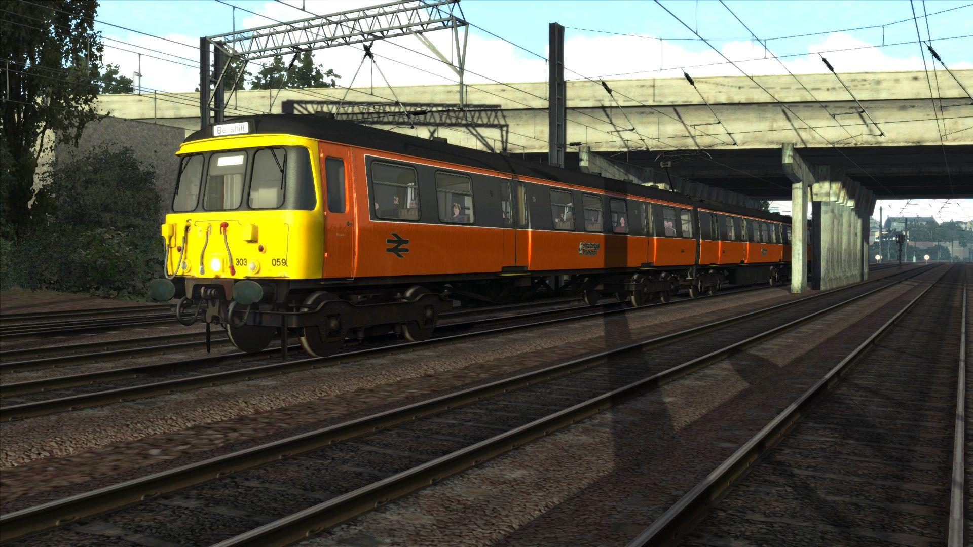 Train Simulator Class 303