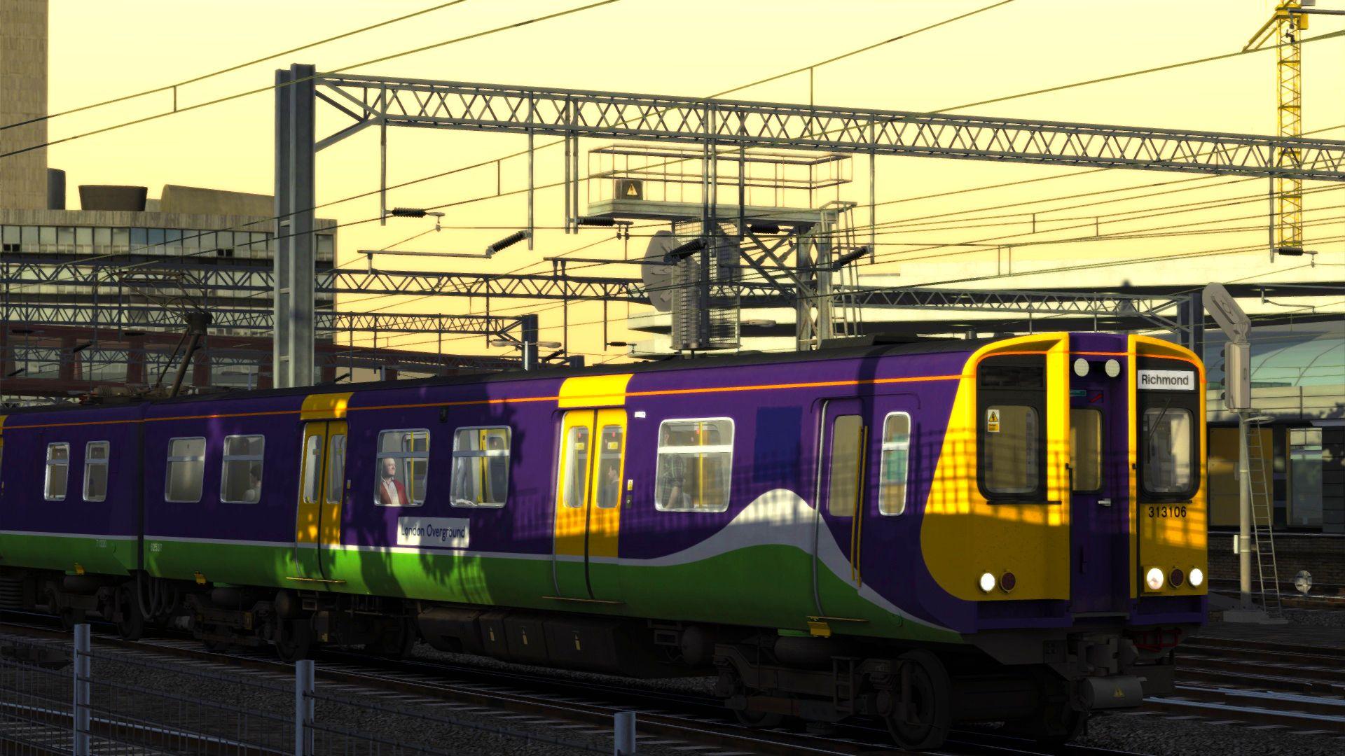 Train Simulator Class 313 Overground