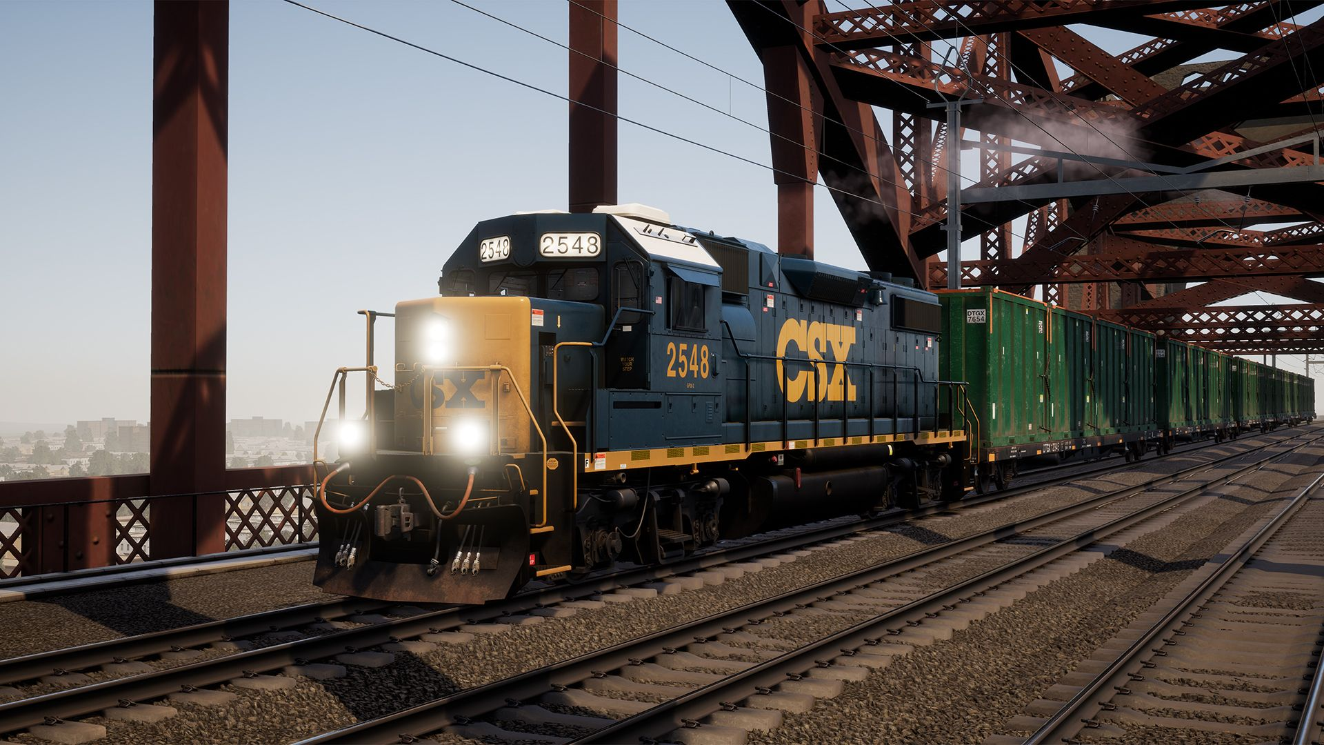 Image showing screenshot of the Northeast Corridor route in Train Sim World