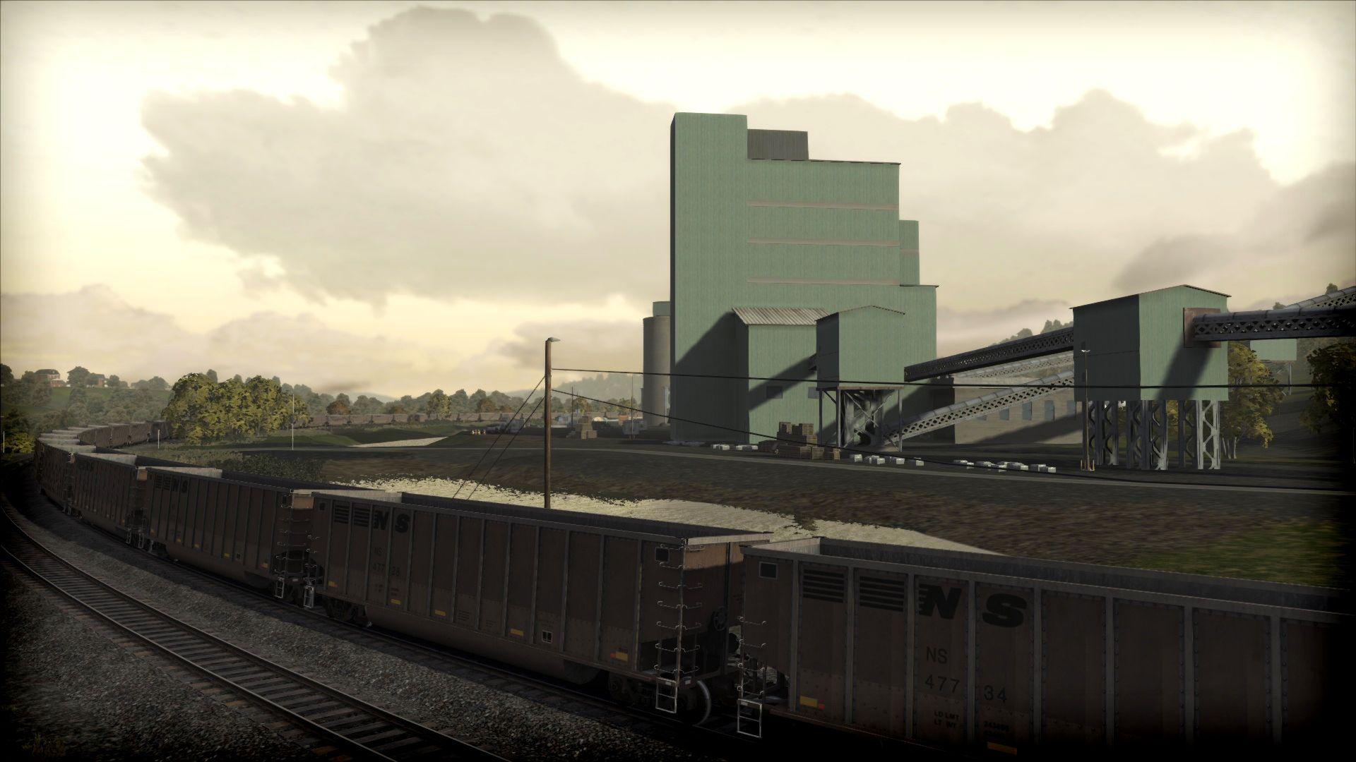 Train Simulator Norfolk Southern Coal District