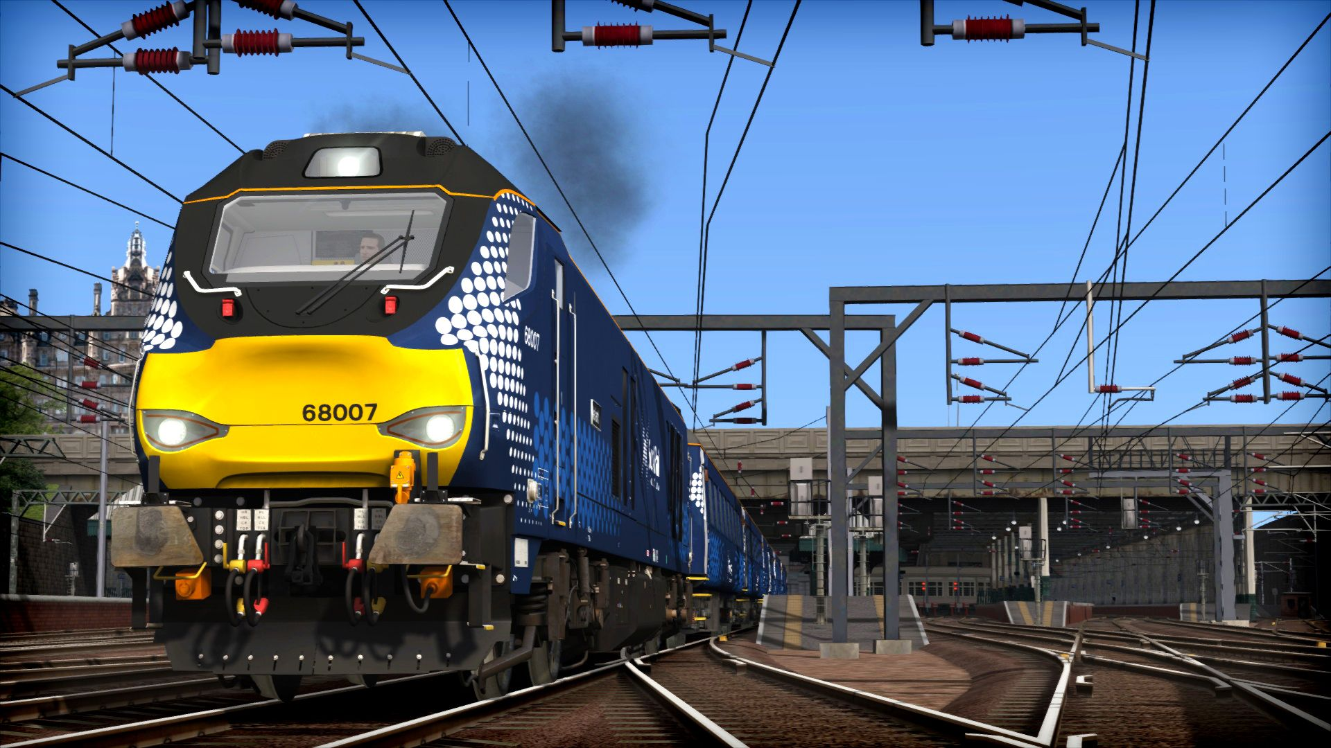 Train Simulator | ScotRail Class 68 Loco Add-on | DPSimulation