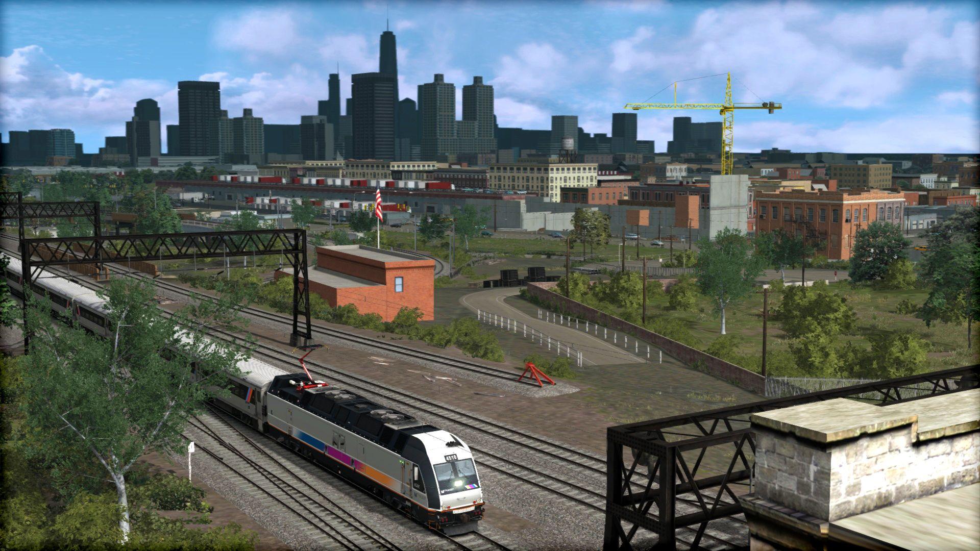 Train Simulator North Jersey Coast Line