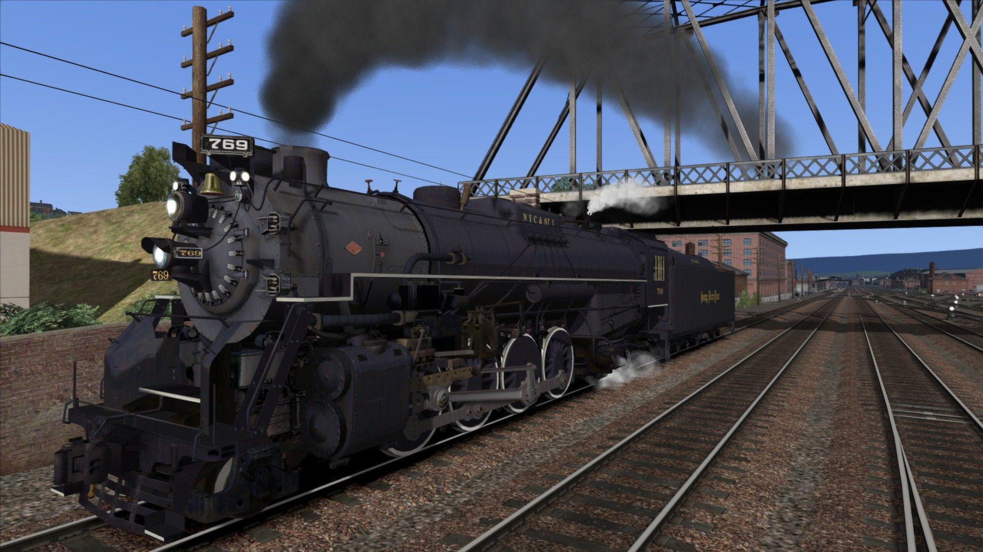 Train Simulator NKP S-2 Class  'Berkshire'