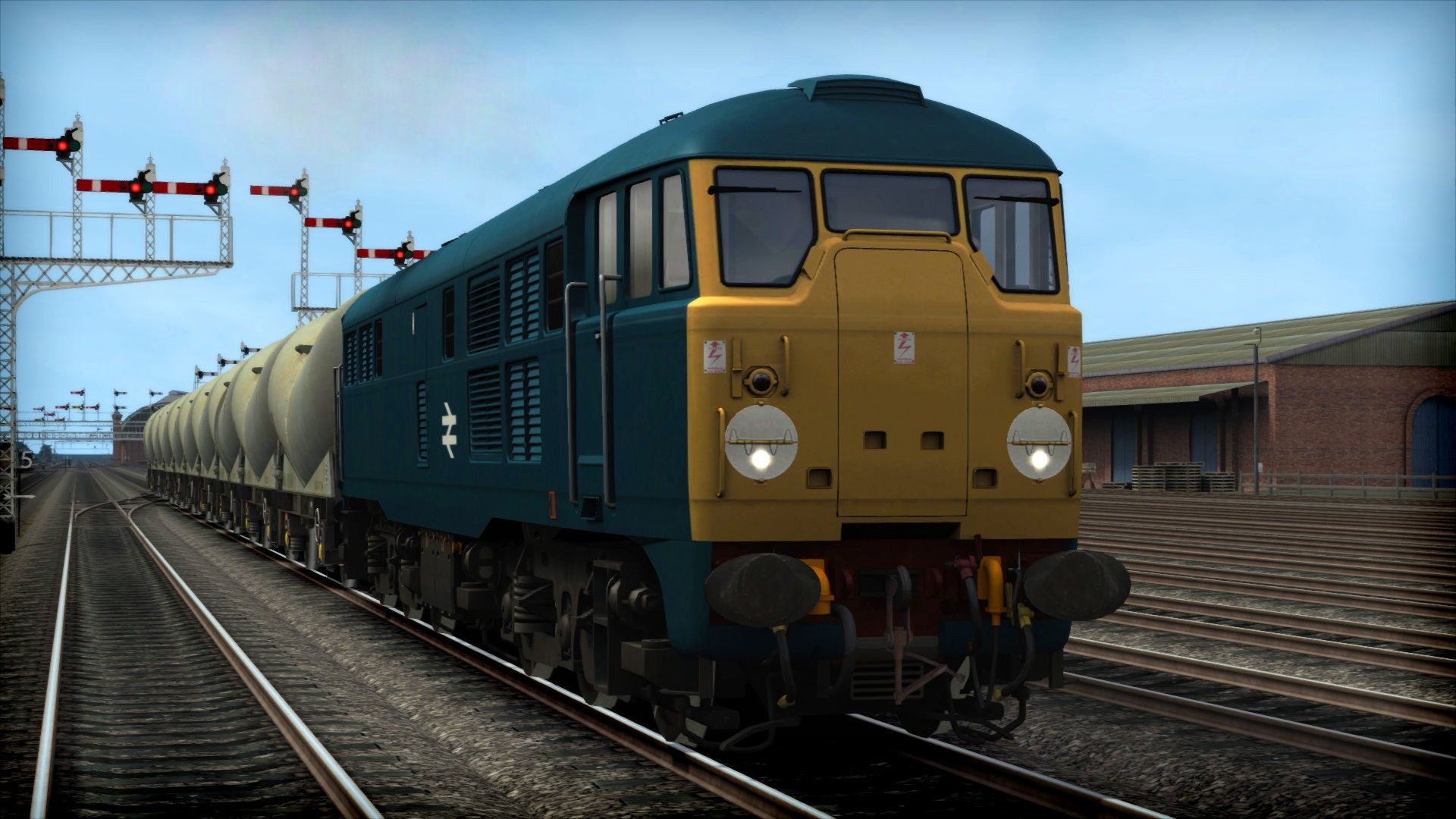 Train Simulator BR Blue Loco Pack