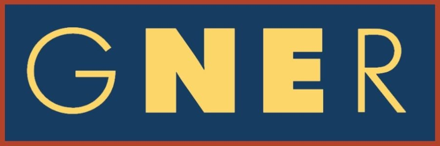 Image showing the Great North Eastern Railway (GNER) logo.