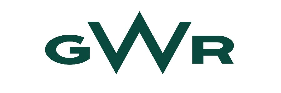 Image showing the Great Western Railway (GWR) logo.