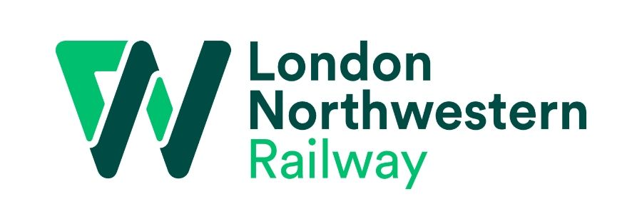 Image showing the London Northwestern Railway (LNWR) logo.