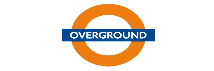 Image showing the London Overground (LO) logo.