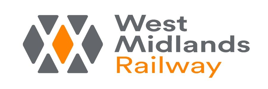 Image showing the West Midlands Railway (WMR) logo.