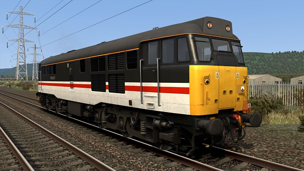 Image showing screenshot of Class 31 locomotives featured in the Armstrong Powerhouse Class 31 Enhancement Pack