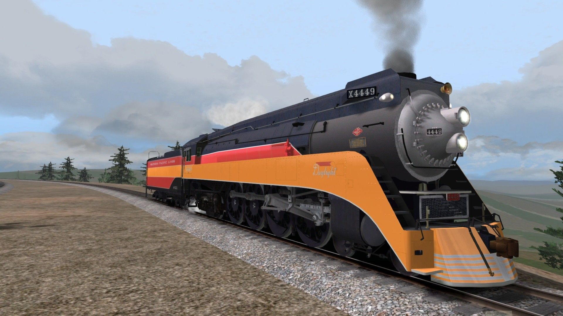 Train Simulator Southern Pacific GS-4