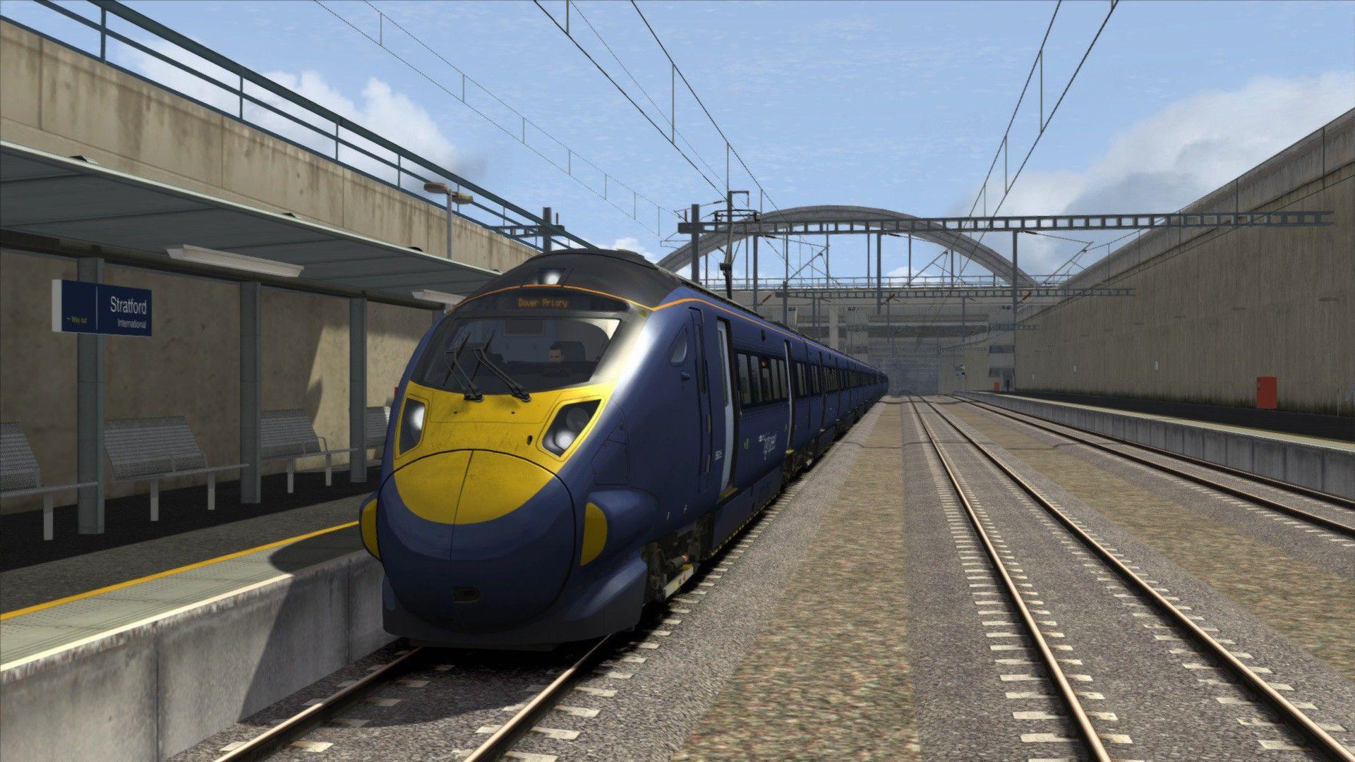 Train Simulator London to Faversham High Speed