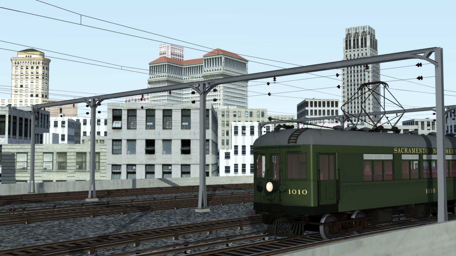 Train Simulator Sacramento Northern