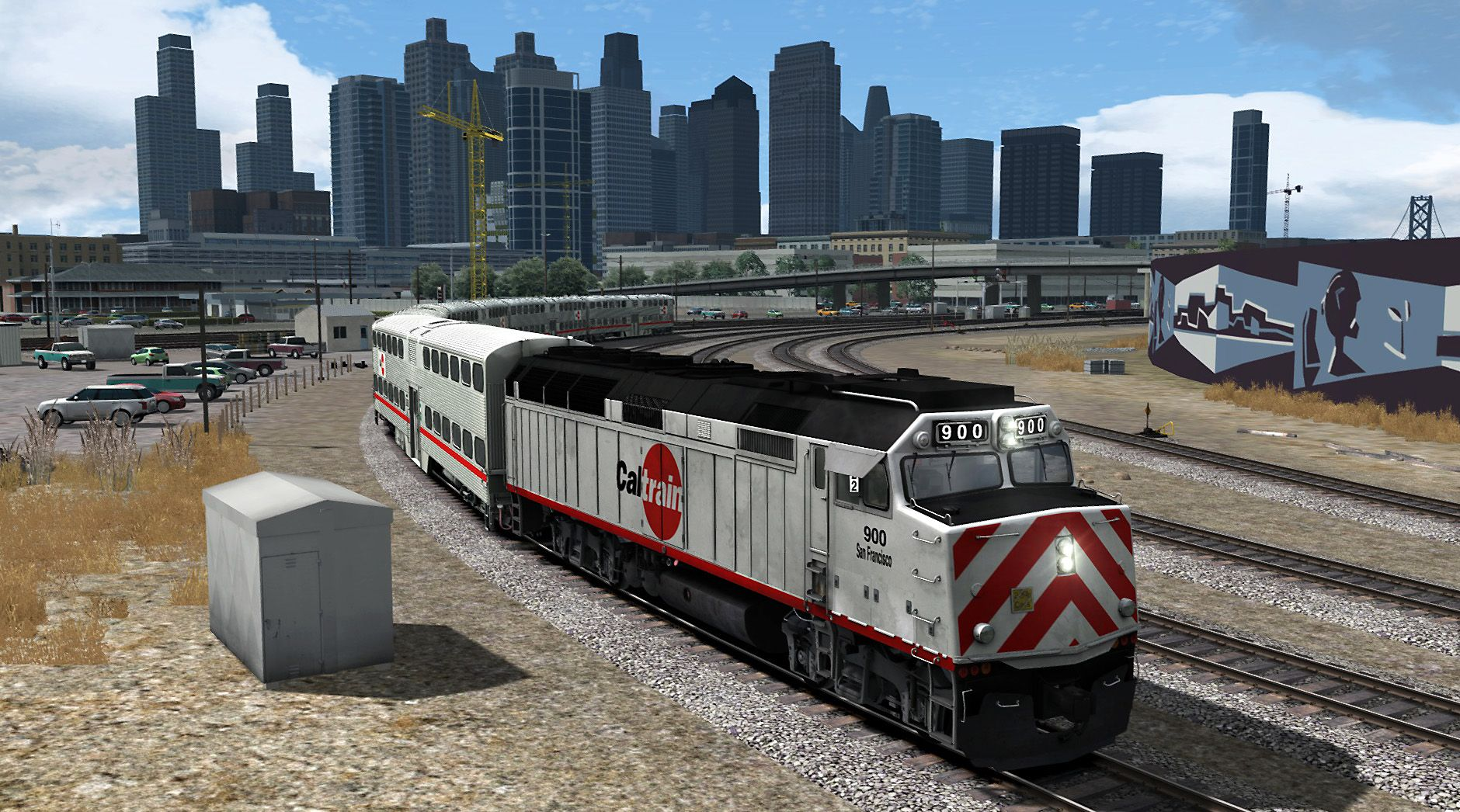 Train Simulator Peninsula Corridor San Francisco to Gilroy