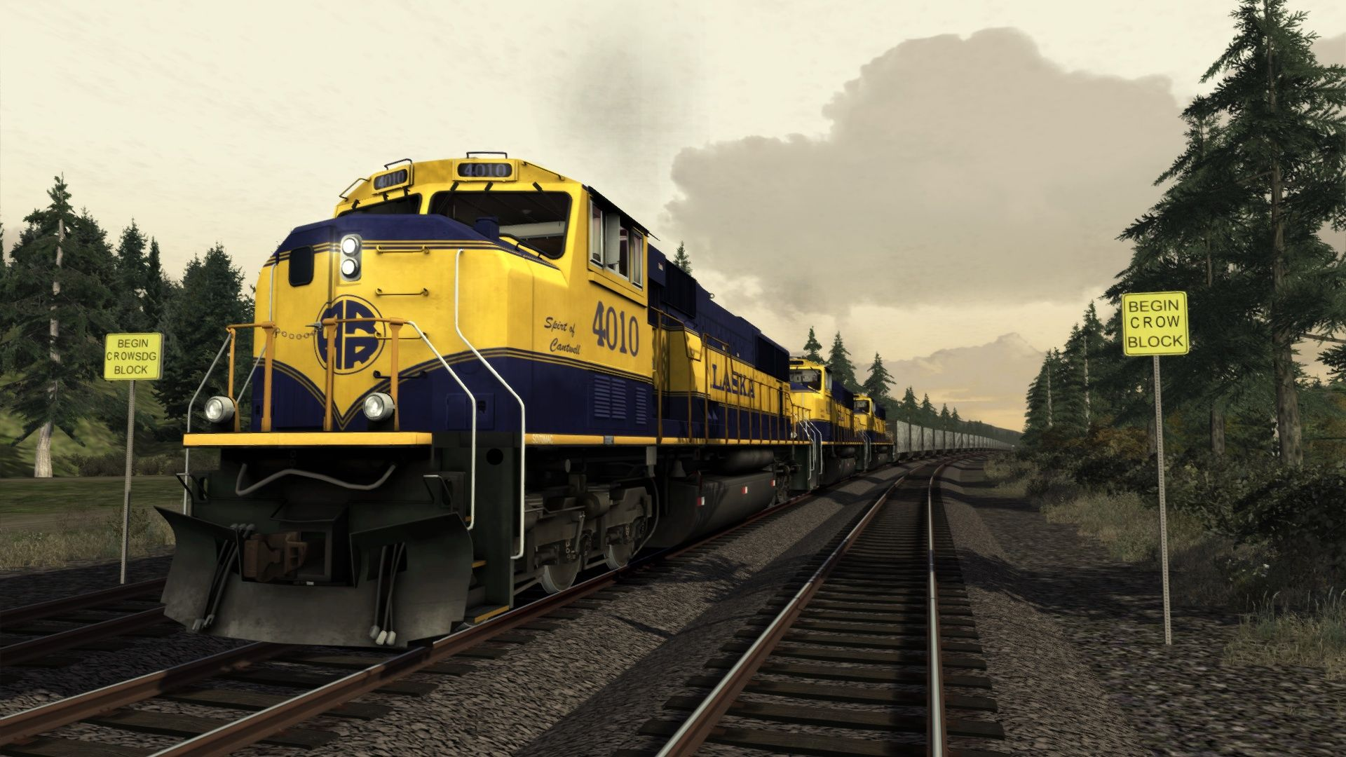 Train Simulator Alaska Railroad