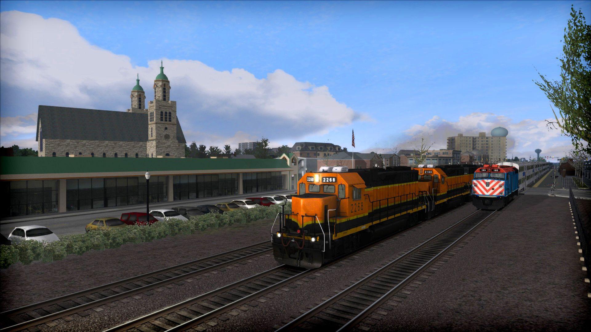 Train Simulator The Racetrack
