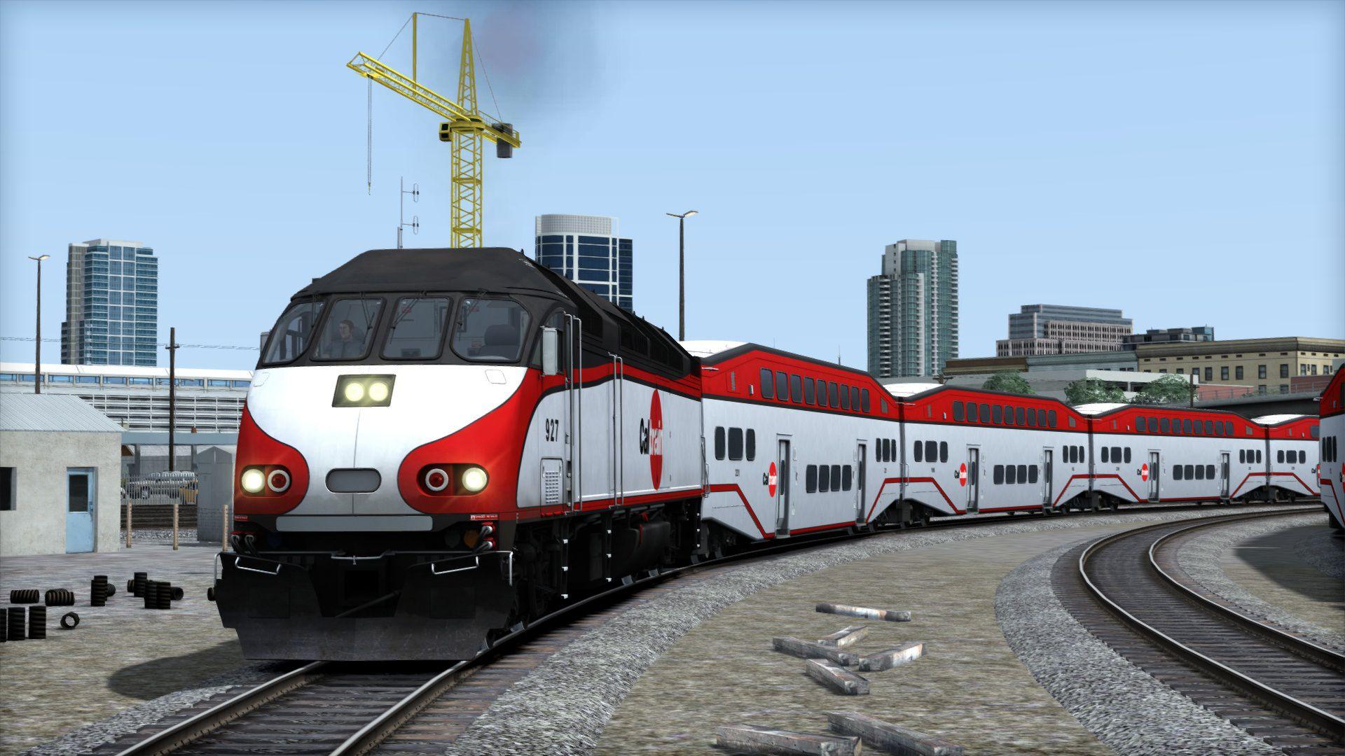 Train Simulator Peninsula Corridor San Francisco to San Jose