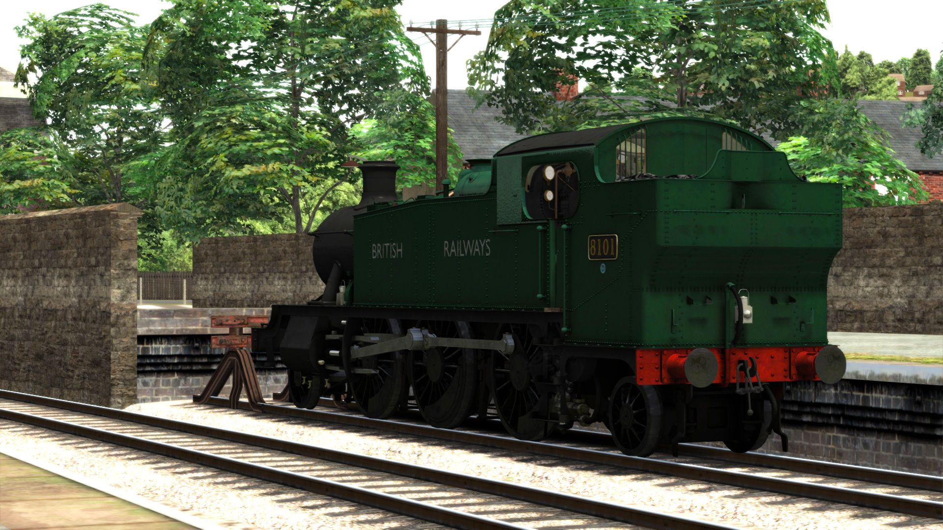 Image showing screenshot of the GWR Prairies Lined Liveries pack from the TS Marketplace