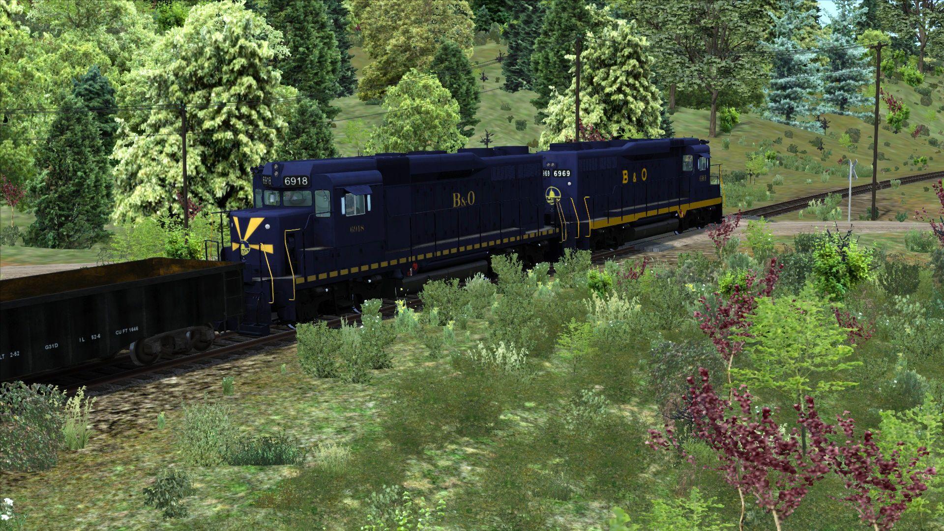 Train Simulator Marketplace: Baltimore and Ohio GP30 Liveries 2017 pc game Img-2