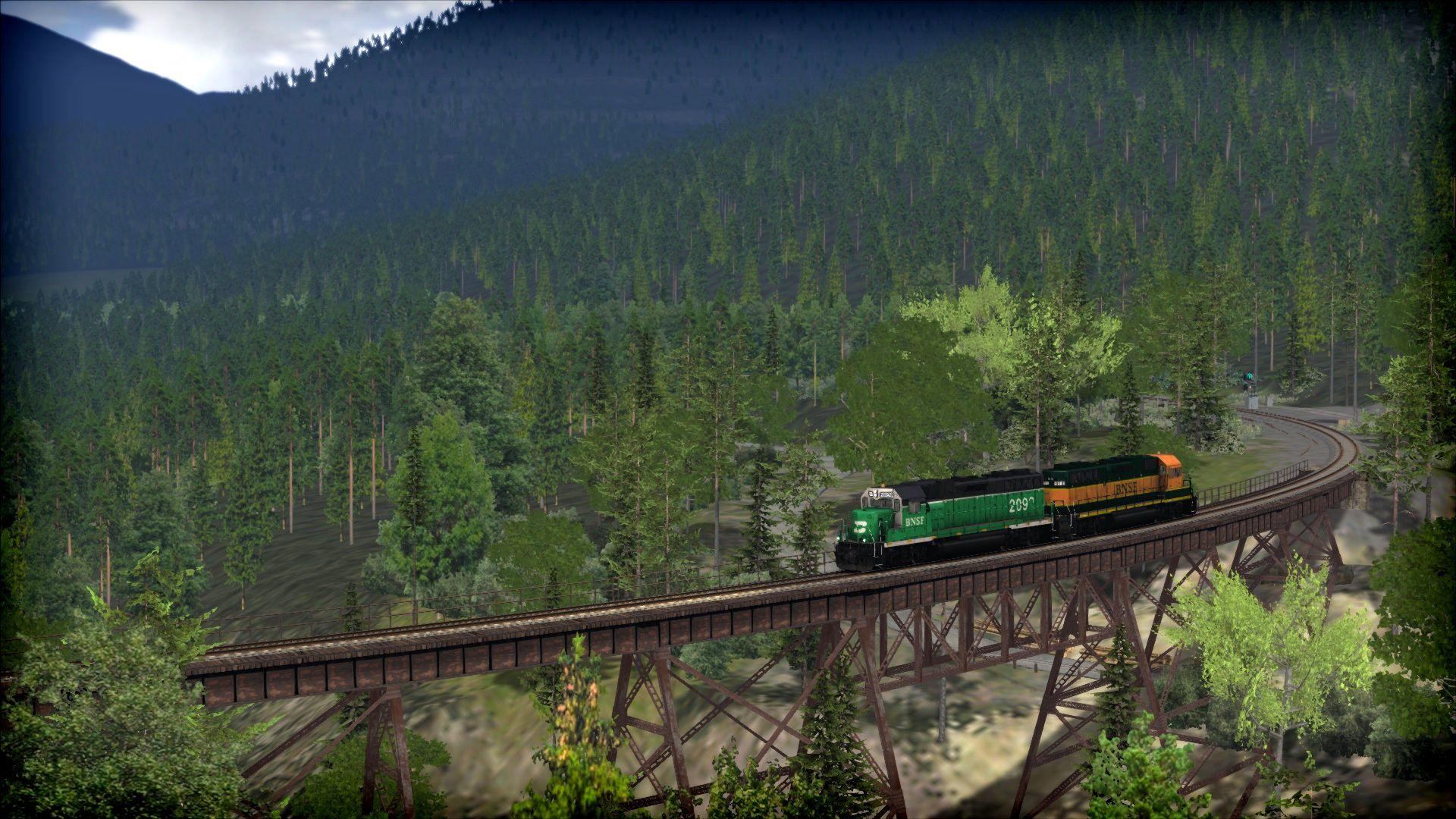 Train Simulator Stevens  Pass