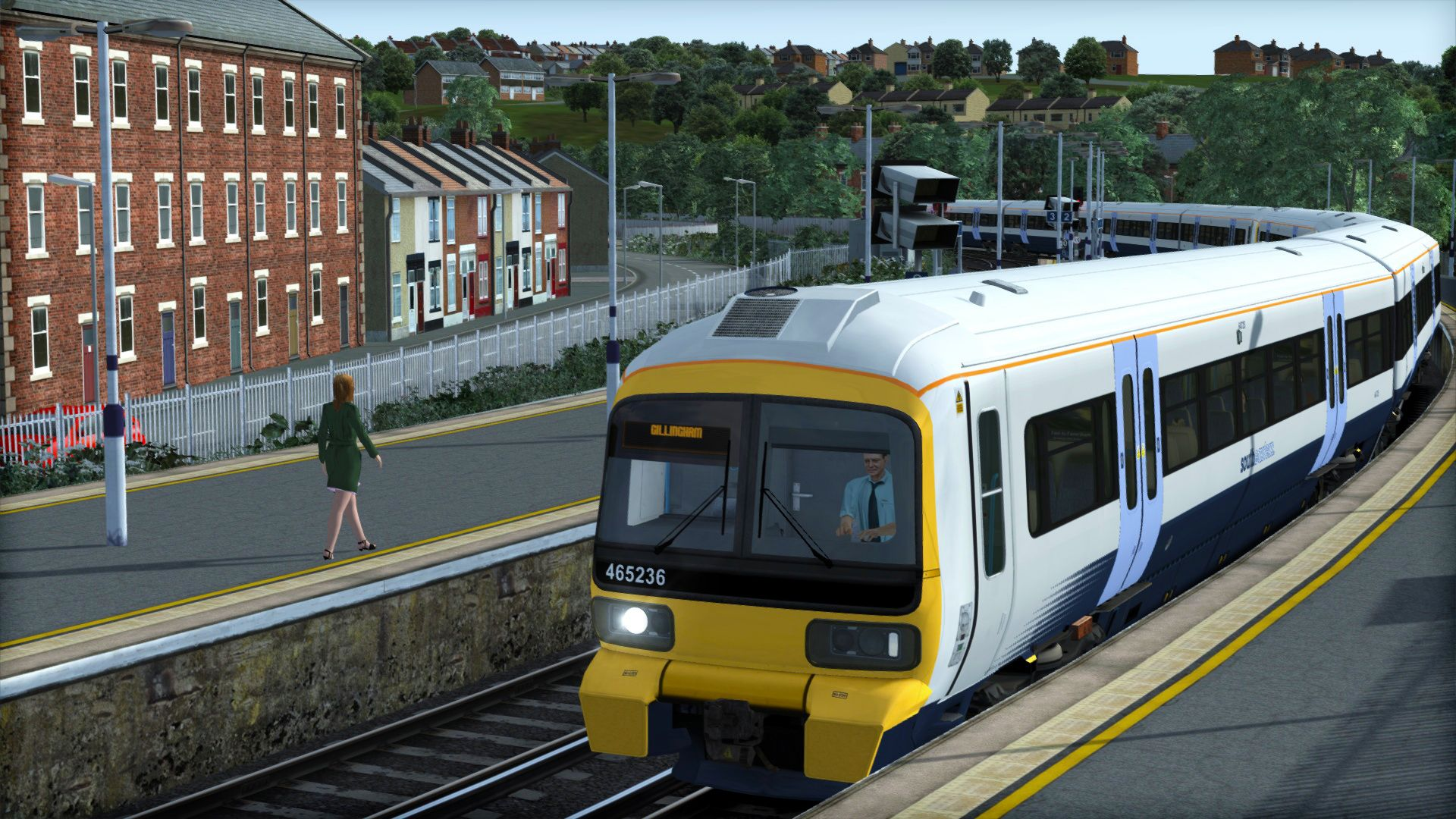 Image showing screenshot of the Class 465 livery pack on the TS Marketplace
