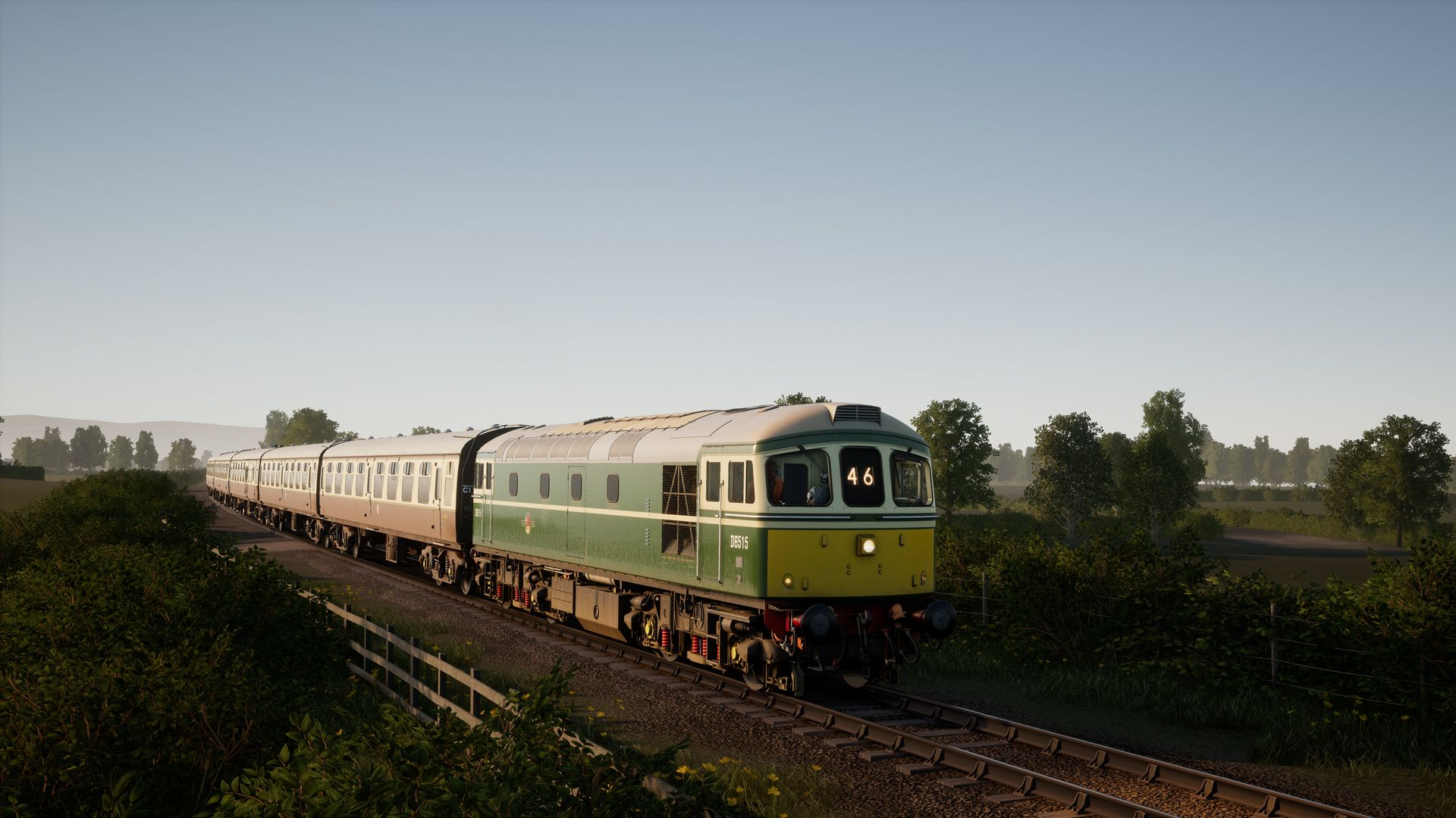 Image showing screenshot of the Class 33 locomotive in Train Sim World