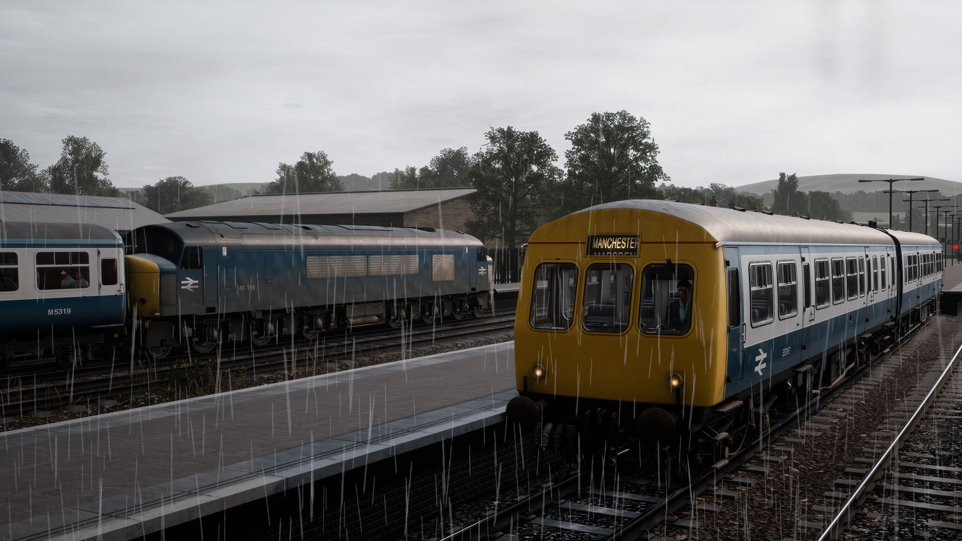 Image showing a screenshot of the Class 101 DMU in Train Sim World