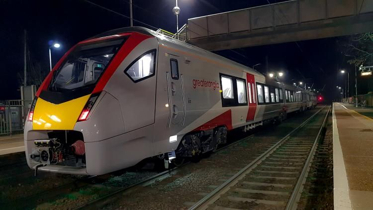 Image showing new Greater Anglia train