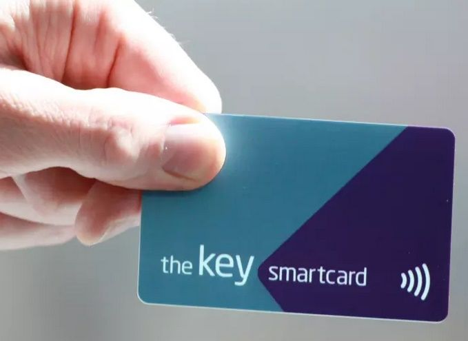 Image showing the Key smartcard